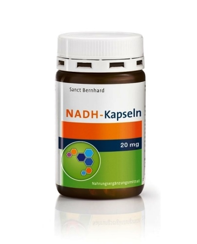 Sanct Bernhard NADH 20 mg 30 kapslí